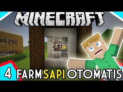 Farm Sapi Otomatis - Minecraft Survival Indonesia