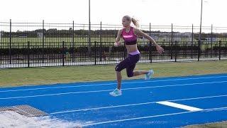 Darya Klishina Дарья Клишина - Training at IMG Academy