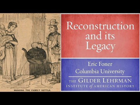 the continuing evolution of reconstruction history by eric foner essay