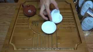 Gongfu Tea Ceremony Close-up