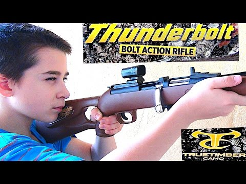 TrueTimber Thunderbolt Bolt Action Rifle Set For Kids With Robert-Andre!