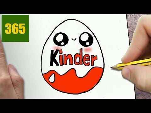 Come Disegnare Kinder Uovo Kawaii Passo Dopo Passo Disegni