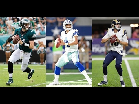 Jared Goff vs Carson Wentz vs Dak Prescott: Which Rookie Reigns Supreme