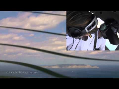 Private Pilot Instrument Training with IFR hood ( full video )