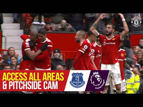 Pitchside Cam |  Manchester United 1-1 Everton |  Access to all areas