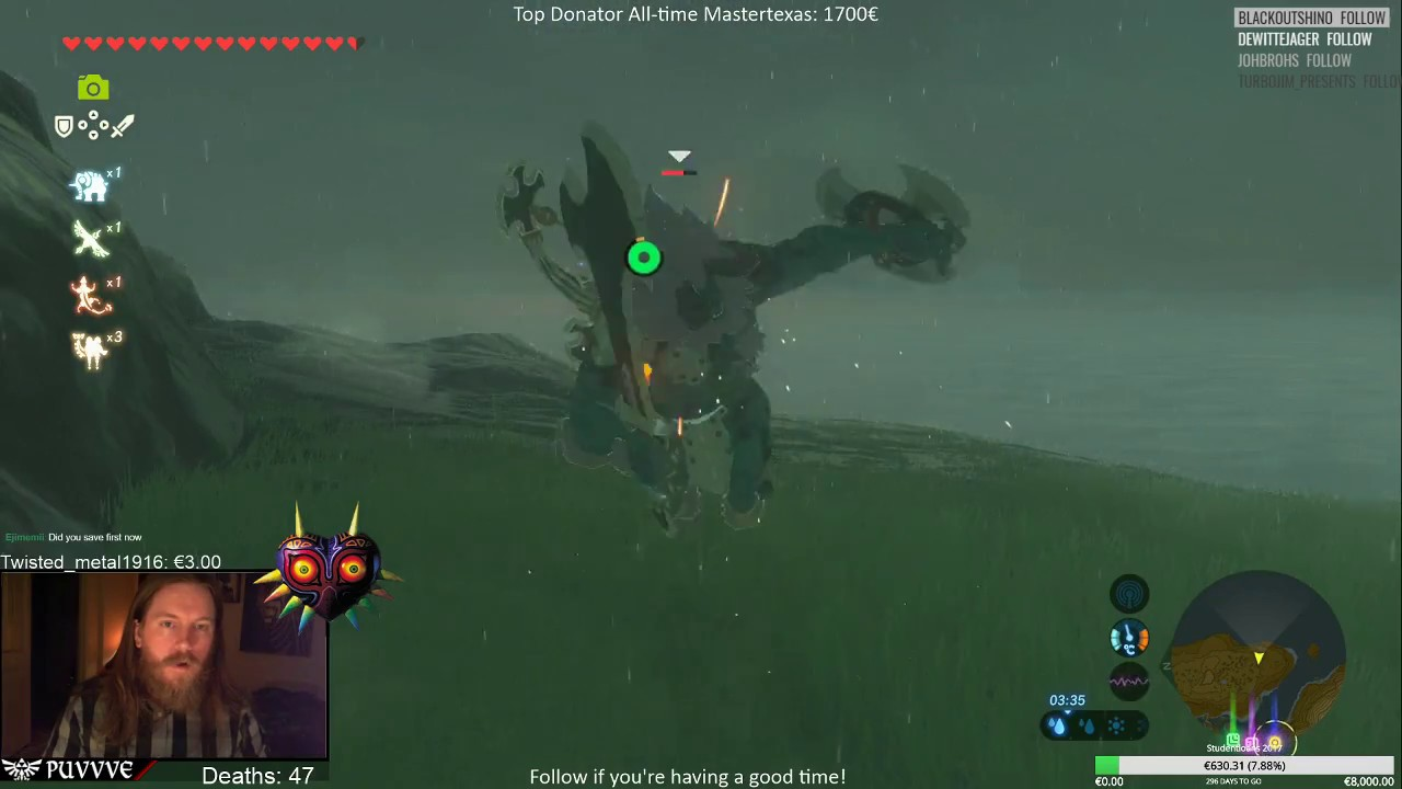 Zelda: BotW East Lynel  The one (I believe) with the strongest weapons
