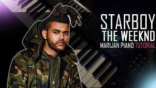 Baixar How To Play: The Weeknd ft. Daft Punk - Starboy | Piano Tutorial Lesson
