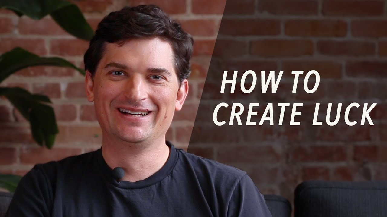 How to Create Luck - Dalton Caldwell, Y Combinator Partner