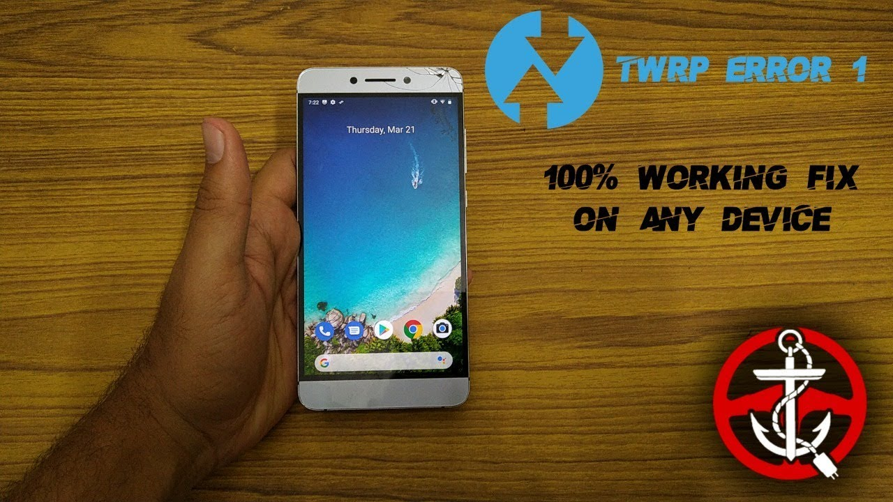 TWRP ERROR 1 (Magisk Zip) - 100% WORKING SOLUTION [2019]