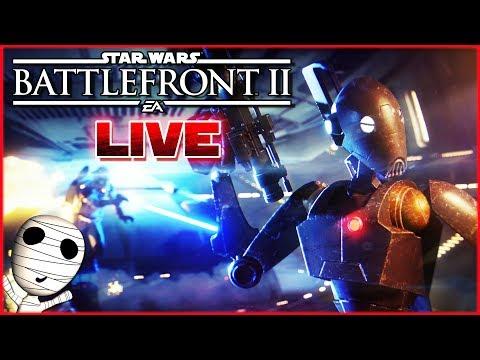 Über den neuen Modus quatschen! 🔴 Star Wars: Battlefront II // PS4 Livestream thumbnail