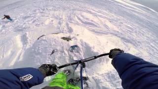 Gudauri SnowScoot Trip 2015 vol.2