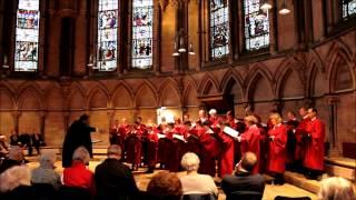 Vasari singers perform Blazhen muzh from Rachmaninoff Vespers