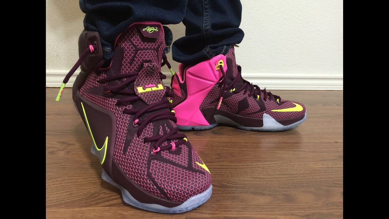 online store 30abd 0d3cc Lebron 12 Helix Nike outlet steal unbox and on feet review