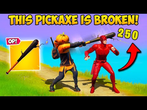 FORTNITE * BROKE * THIS PICKAXE !! - Fortnite Funny Stops Working and WTF Minutes! # 1081 -NewsBurrow thumbnail
