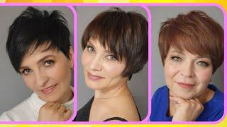 Омолаживающие женские стрижки и макияж 2021 года