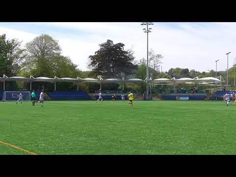 Frank Jones scores for St George's  v Corinthians (3-0) Hospital Cup final 19 May 2018