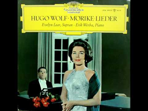 Evelyn Lear: Gebet - Lieder Nach Gedichten von Eduard Mörike (Wolf) - DG, 1965 - Lyrics