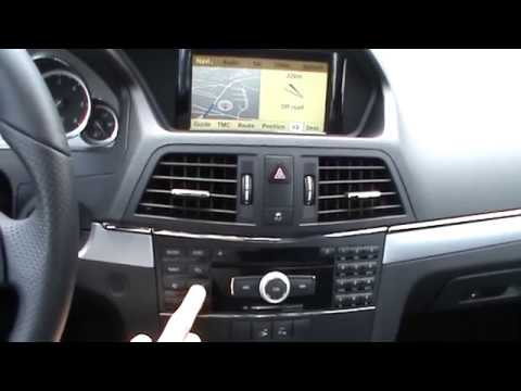 Full Review Of The 2009 Mercedes Comand System Youtube