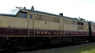 Napa Valley Wine Train, Napa County, California