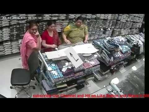 Chori ka live video   cctv footage   ladies chor