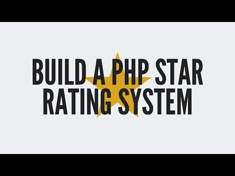 PHP Star Rating System
