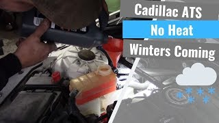 Cadillac ATS: No Heat Out Of The Dash