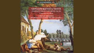 Violin Concerto No. 21 in E Major, G. 96: III. Allegretto più tosto vivo