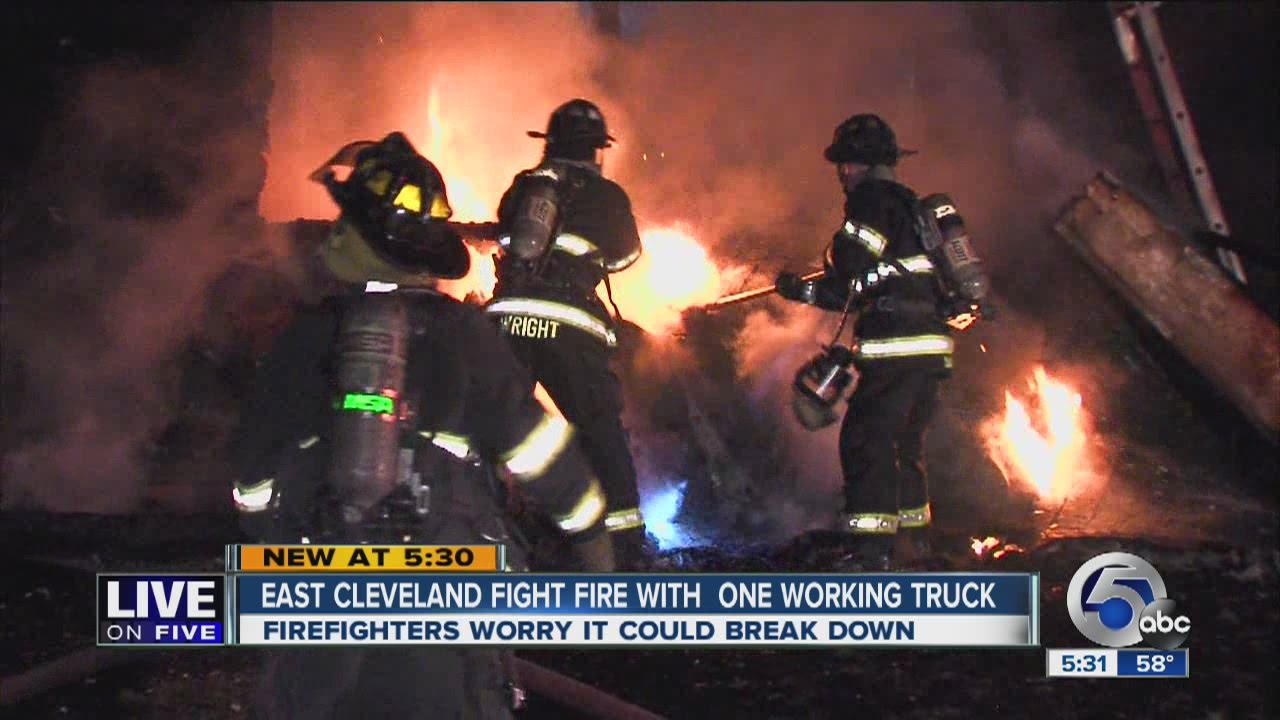 East Cleveland Fire Department releys on mutual aid for ...