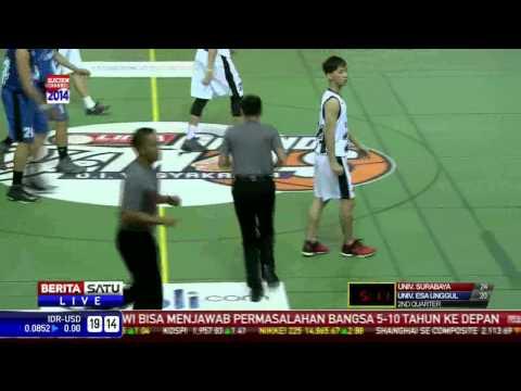 Final Putra LIMA Basket Grand Finals: UEU vs UBAYA