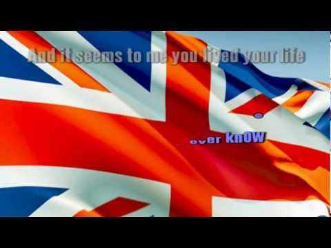 ELTON JOHN - CANDLE IN THE WIND (ENGLAND'S ROSE)  karaoke instrumental lyrics