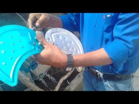 Dengan Rp 3rb bisa buat Antena TV dan hasilnya sagat bersih,karya ROSLIN TEHNIK.