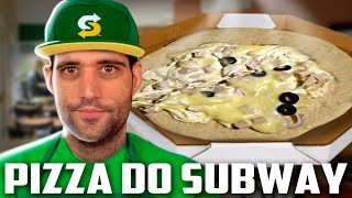 A pizza do SUBWAY