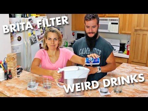 Drinking Brita Filtered Beer, Vodka, Wine, Shame