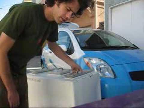Ice Cream Man's New Pushcart