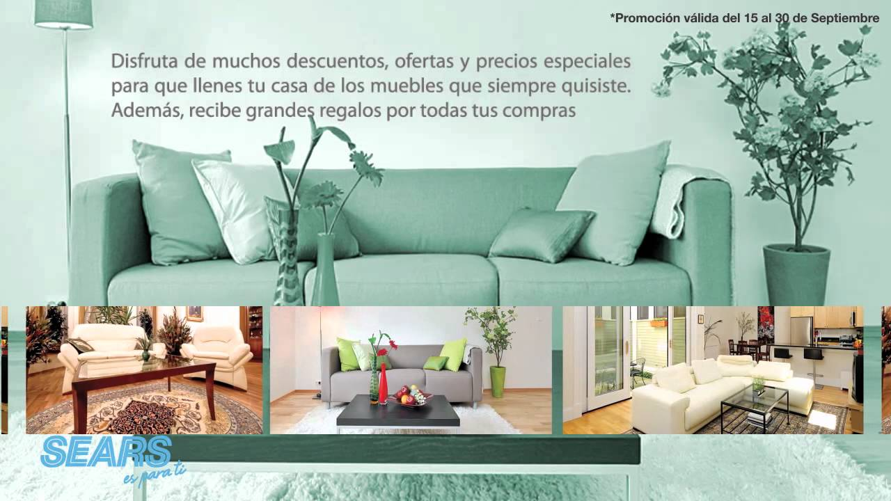 SEARS fiesta del mueble - YouTube