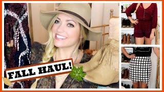 Fall Clothing Try On Haul 2015! Style By Dani