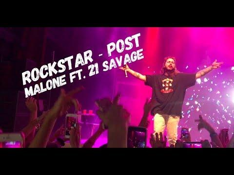 Post Malone - Rockstar Ft 21 Savage LIVE @Filmore