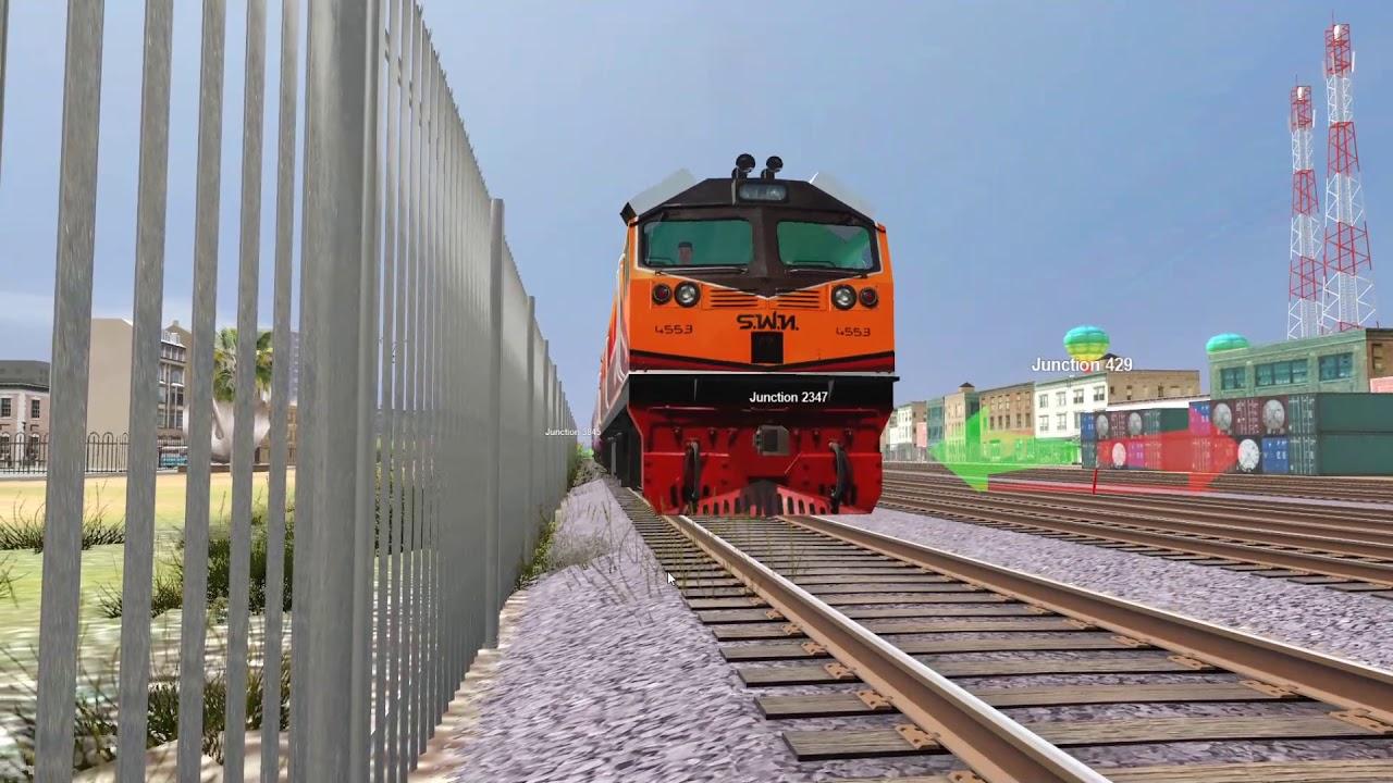 Train Railroad 2019 : สับเปลี่ยนขบวนรถที่ 170 ยะลา-กรุงเทพ ชุมทางหาดใหญ่