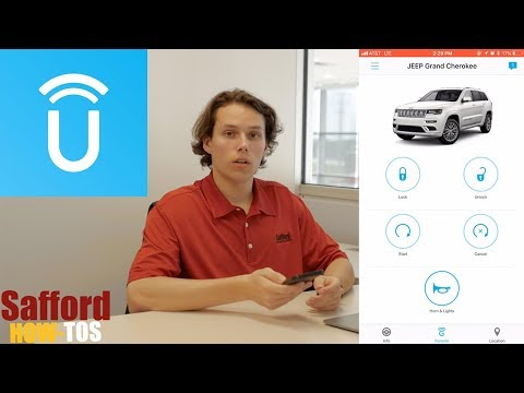 Control your car with your SmartPhone | Uconnect App Tutorial at Safford of Winchester