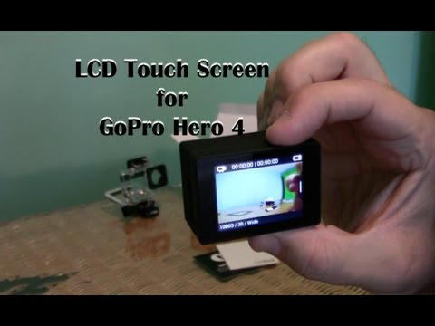 GoPro Hero4 Black Edition with LCD Touch Screen