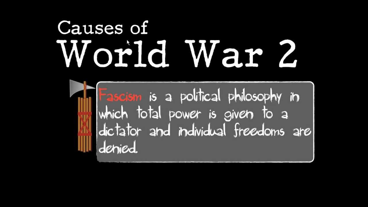 Hist7-Ch8-Lesson 1- Causes of WW2 / Allied and Axis powers - YouTube
