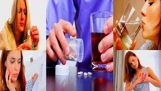 видео Чем чревато курение и употребление алкоголя при ангине