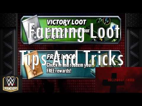WWE Champions Mobile - Farming Loot Tips and Tricks