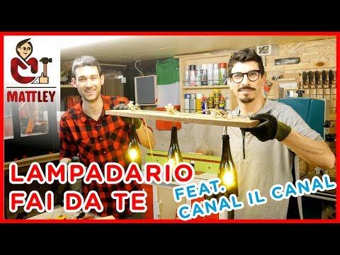 Lampadario fai da te feat. Canal il Canal | Riciclo creativo per la giornata mondiale della terra