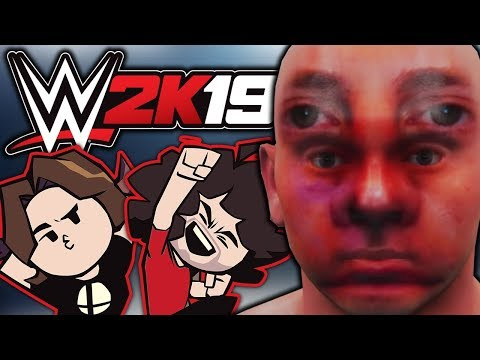 WWE 2K19: Creating The Perfect Character - Game Grumps