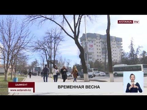 В Туркестанской области и Шымкенте на смену теплой погоде идет похолодание