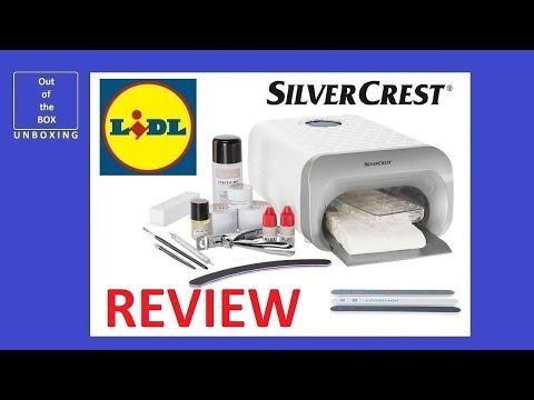 A REVIEW Set type 45W UV 3 SNS Studio SilverCrest Nail 45 B4Lidl Lamp wOPk8Xn0