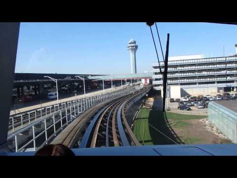 Airport Transit System in Chicago O'Hare International Airport
