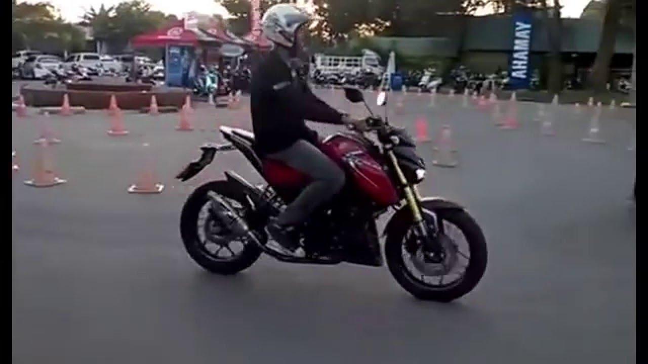 test drive yamaha xabre 150 - yamaha mslaz 150 - youtube