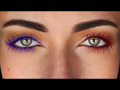 Create Your Own Diy Colored Mascara Fom Any Eyeshadow
